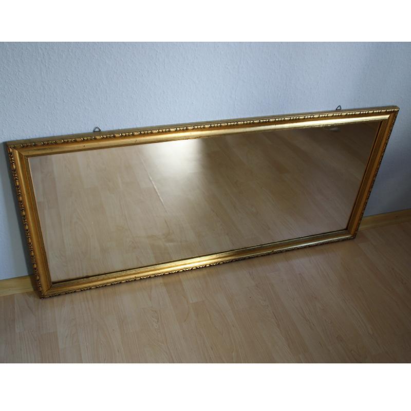 Goldrahmen Spiegel